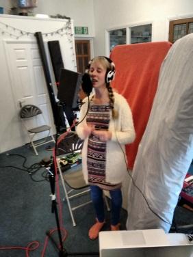Emily singing photo